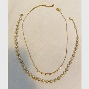 Gold Daisy Layered Necklaces